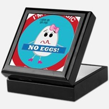 Egg Allergy - Girl Keepsake Box