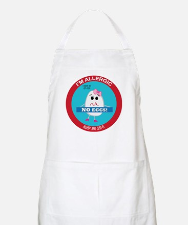 Egg Allergy - Girl Apron