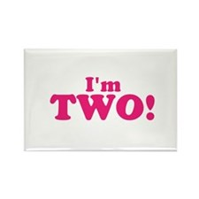 Im Two Second Birthday Rectangle Magnet (100 pack)