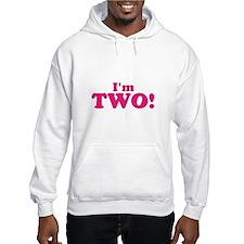 Im Two Second Birthday Hoodie Sweatshirt