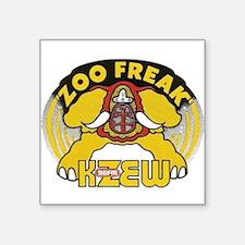 "KZEW The Zoo (1975) Square Sticker 3"" x 3"""