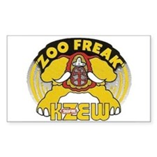 KZEW The Zoo (1975) Decal