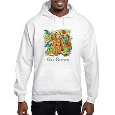 Airedale Terriers Go Green Hoodie