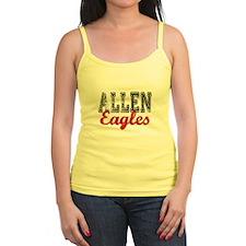 Distressed Allen Eagles T Jr.Spaghetti Strap