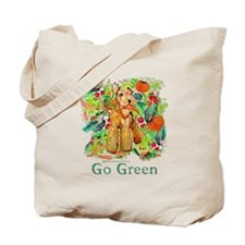 Airedale Terriers Go Green Tote Bag