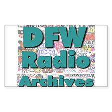 DFW Radio Archives - Square Logo Decal