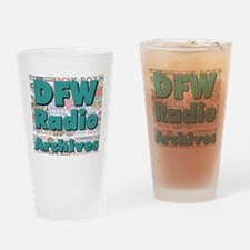 DFW Radio Archives - Square Logo Drinking Glass