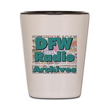 DFW Radio Archives - Square Logo Shot Glass