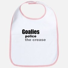 Goalies Police the Crease Bib