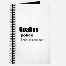 Goalies Police the Crease Journal