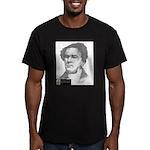 Lewis Tappan Men's Fitted T-Shirt (dark)