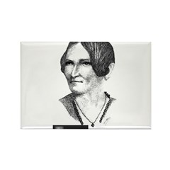 Lydia Maria Child Rectangle Magnet
