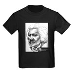 Douglass with Logo.jpg Kids Dark T-Shirt