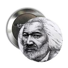 """Douglass with Logo.jpg 2.25"""" Button"""