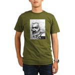 Frederick Douglass Organic Men's T-Shirt (dark)