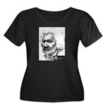 Frederick Douglass Women's Plus Size Scoop Neck Da