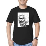 Frederick Douglass Men's Fitted T-Shirt (dark)