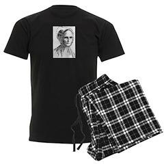Lucretia Coffin Mott Men's Dark Pajamas
