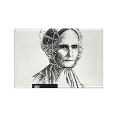 Lucretia Coffin Mott Rectangle Magnet