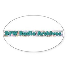DFW Radio Archives - Bar Logo Decal