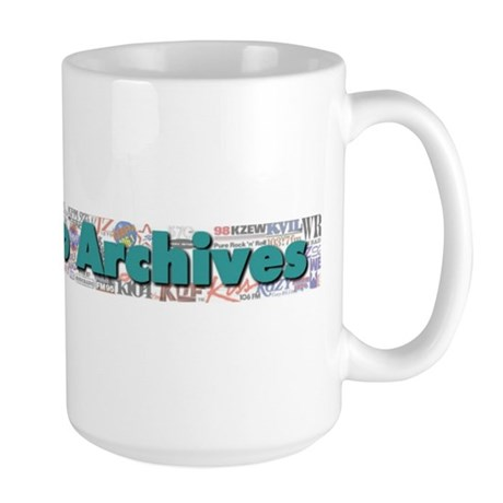DFW Radio Archives - Bar Logo Large Mug