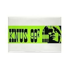 KNUS (1969) Rectangle Magnet