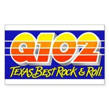 Q102 (1986) Decal