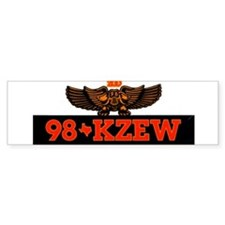 KZEW The Zoo (1983) Bumper Sticker