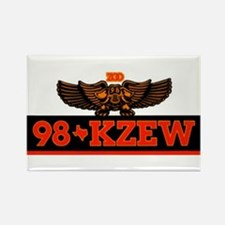KZEW The Zoo (1983) Rectangle Magnet