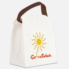 Go Solar Canvas Lunch Bag