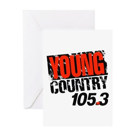 Young Country (1992) Greeting Card