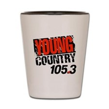 Young Country (1992) Shot Glass