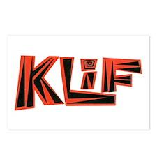 KLIF (1960s) Postcards (Package of 8)