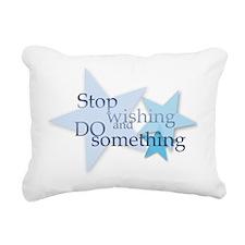 Stop Wishing and Do Something Rectangular Canvas P