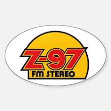 Z97 (1977) Sticker (Oval)