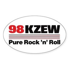 KZEW The Zoo (1988) Decal