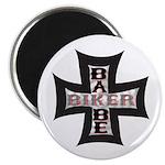 Biker Babe Magnet