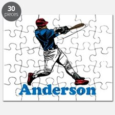 Personalized Baseball Puzzle