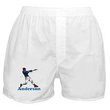Personalized Baseball Boxer Shorts