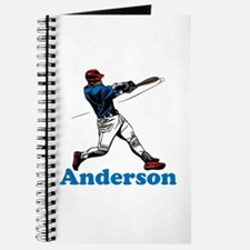 Personalized Baseball Journal