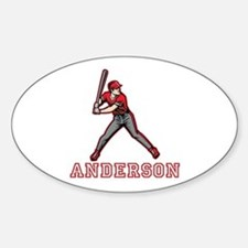 Personalized Baseball Decal
