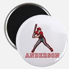 "Personalized Baseball 2.25"" Magnet (10 pack)"