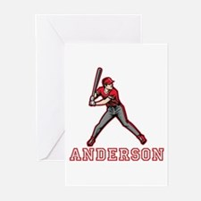 Personalized Baseball Greeting Cards (Pk of 20)
