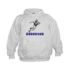 Personalized Football Hoodie