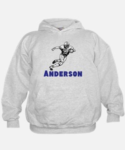 Personalized Football Hoody