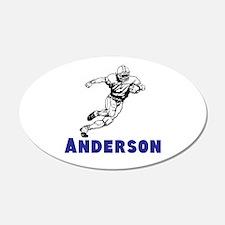 Personalized Football Wall Sticker