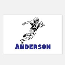 Personalized Football Postcards (Package of 8)
