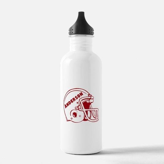 Personalized Football Water Bottle