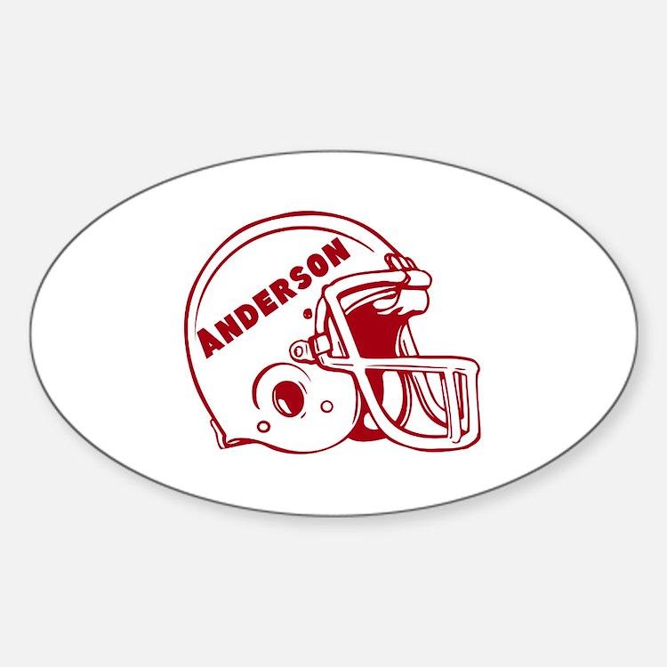 Football Bumper Stickers Car Stickers Decals  More - Custom oval car bumper magnets