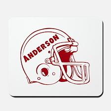 Personalized Football Mousepad